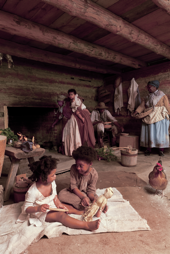 The Discomforts of Home for an Enslaved Family in Williamsburg.